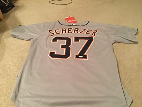 detailed look bad7c 4ce56 Max Scherzer Autographed Jersey - 2x Cy Young Award Winner ...