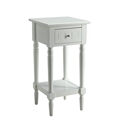 Convenience Concepts French Country Khloe Accent Table, White