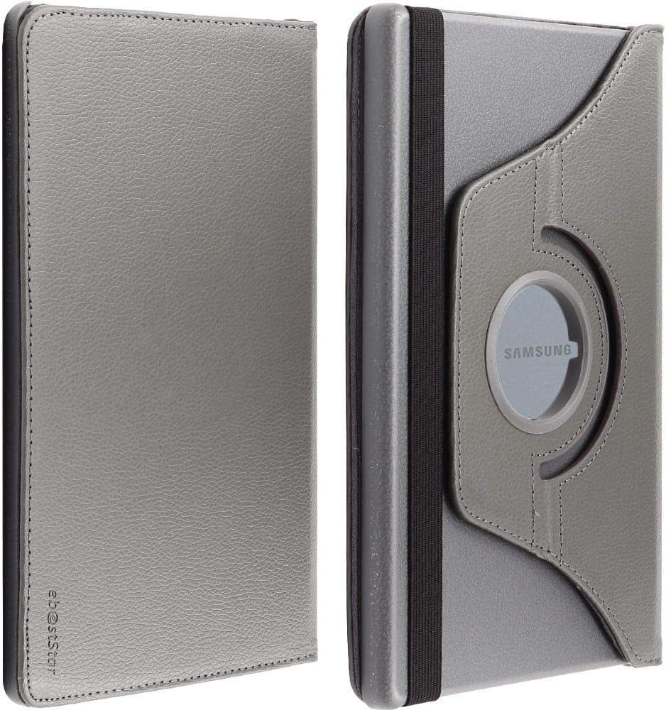 kompatibel mit Samsung Galaxy Tab A 10.1 H/ülle 2019 T515 Rotierend Schutzh/ülle Etui Rotating Case Cover Stand Schutz H/ülle St/änder Rot +Panzerglas Schutzfolie Tab:245x149x7.5mm 10.1 ebestStar