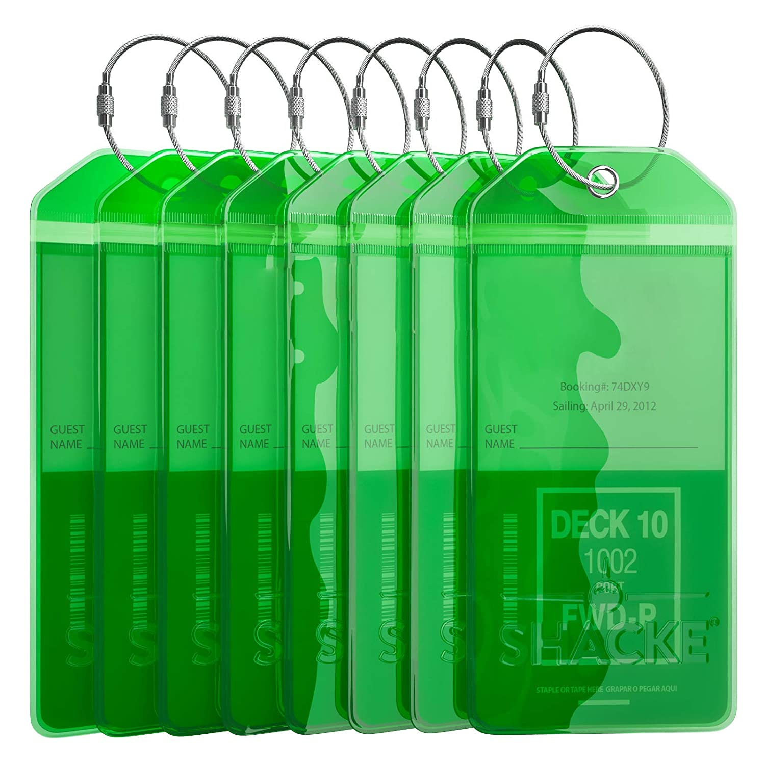 8 Pack - Green