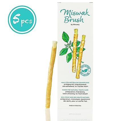 Cepillo de dientes Miswak por blissany- cepillo de dientes tradicional árabe, cepillo de dientes