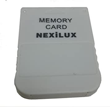 Amazon.com: nexilux PS1 PlayStation (PSX) tarjeta de memoria ...