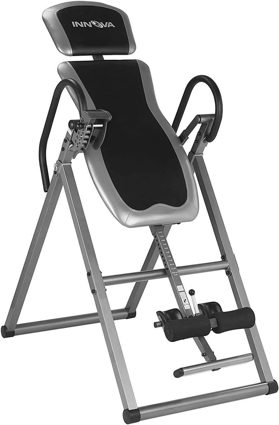 Inversion Therapy Table Heavy Duty Gravity Back Pain Relief Ab Stamina Inverse : Sports & Outdoors