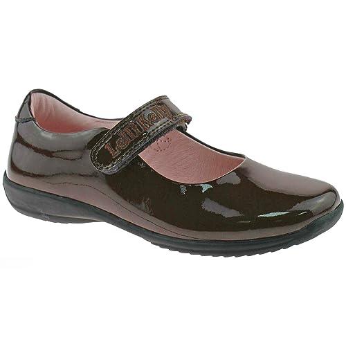 Lelli Kelly LK8218 (DJ01) Classic Brown Patent School Shoes F Fitting-27 (