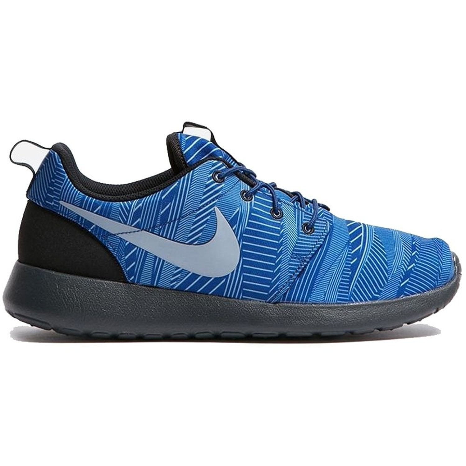 NIKE 655206 Men's Roshe One Print, Stylish and Comfortable Casual Sneakers B071NJV25P 9.5 D(M) US|Coastal Blue/Blue Grey-wolf Grey-black