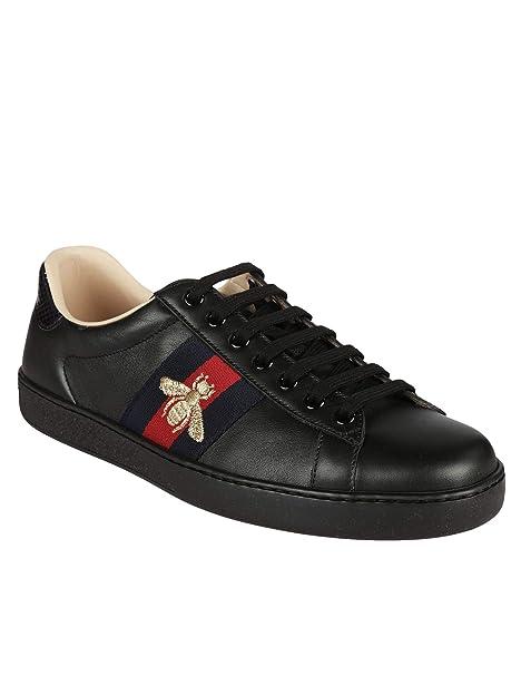 5828c4054bc Amazon.com  Gucci Ace Replacement Shoelaces (Black)  Shoes