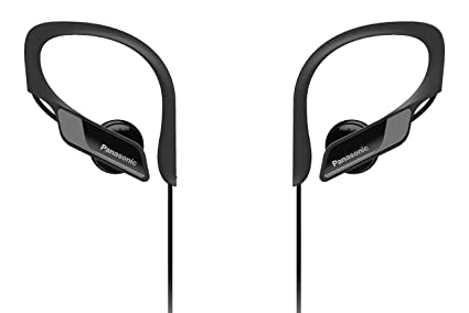 Panasonic Wings RP-BTS10-K - Auriculares Deportivos In-Ear con Bluetooth,