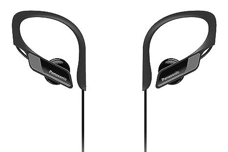 Panasonic Wings RP-BTS10-K - Auriculares Deportivos In-Ear con Bluetooth,