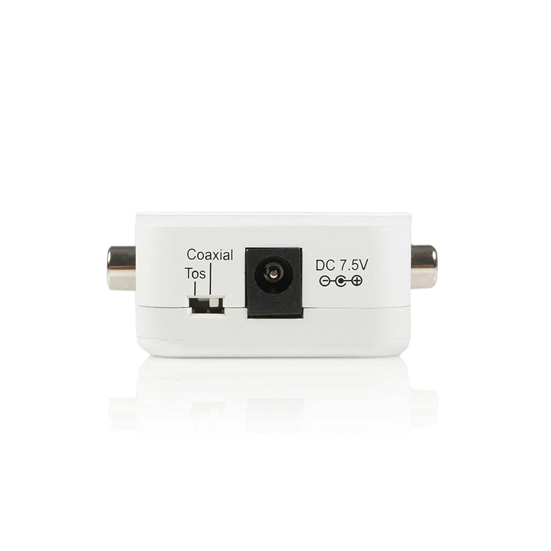 StarTech SPDIF2AA - Cable coaxial (conversor de toslink a RCA ...