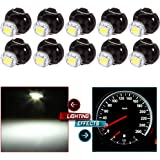 cciyu 10X White T4/T4.2 Neo Wedge LED Climate Control Light Bulbs Replacement fit for 1998-2010 Honda Accord/Odyssey…
