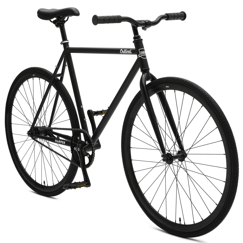 Amazon.com : Critical Cycles Harper Coaster Fixie Style Single-Speed ...