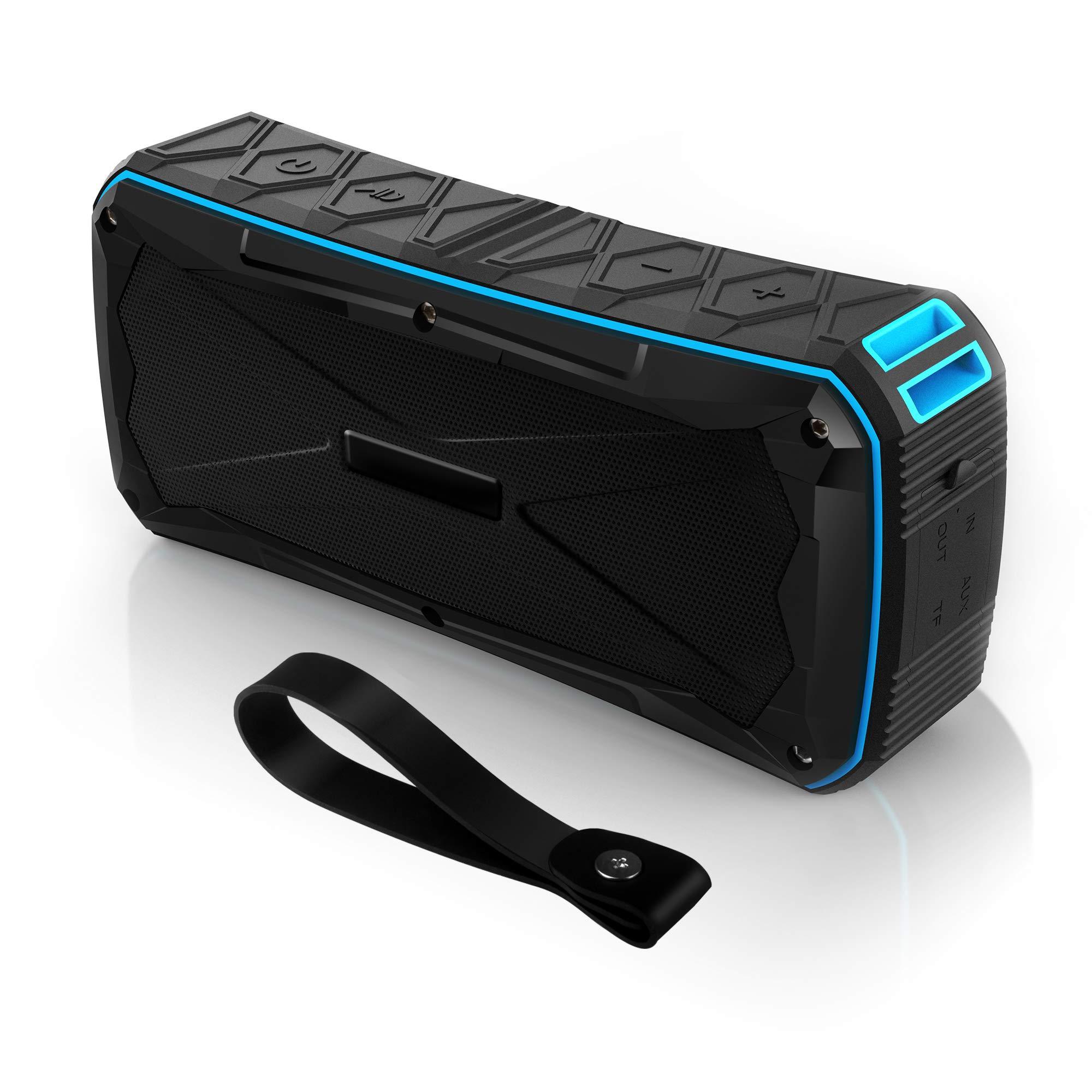 Long lasting bluetooth speaker