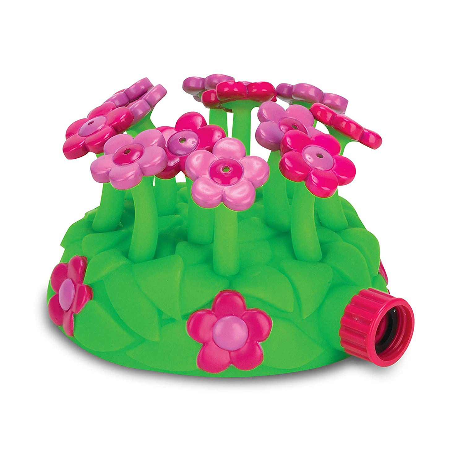 Melissa & Doug Sunny Patch Blossom Bright Sprinkler, Great Gift for Girls and Boys - Best for 3, 4, 5 Year Olds and Up