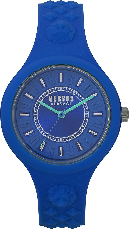Versus by Versace Reloj Analogico para Mujer de Cuarzo con Correa en Silicona VSPOQ2618