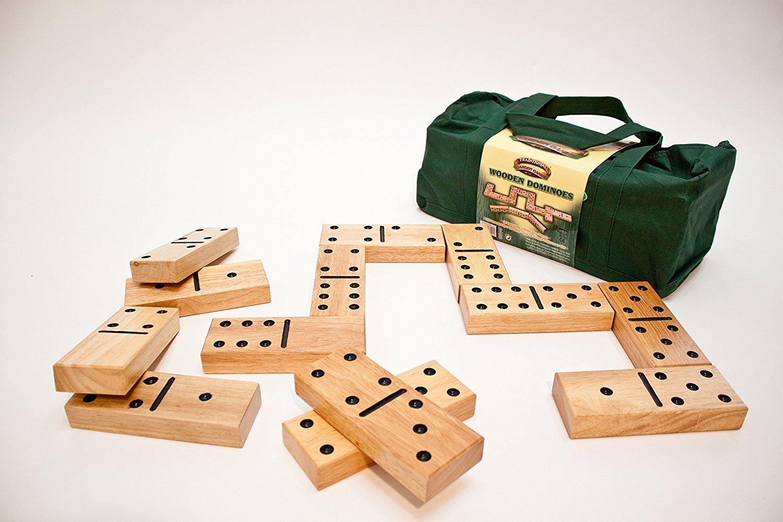 Giant Wooden Garden Dominos Game