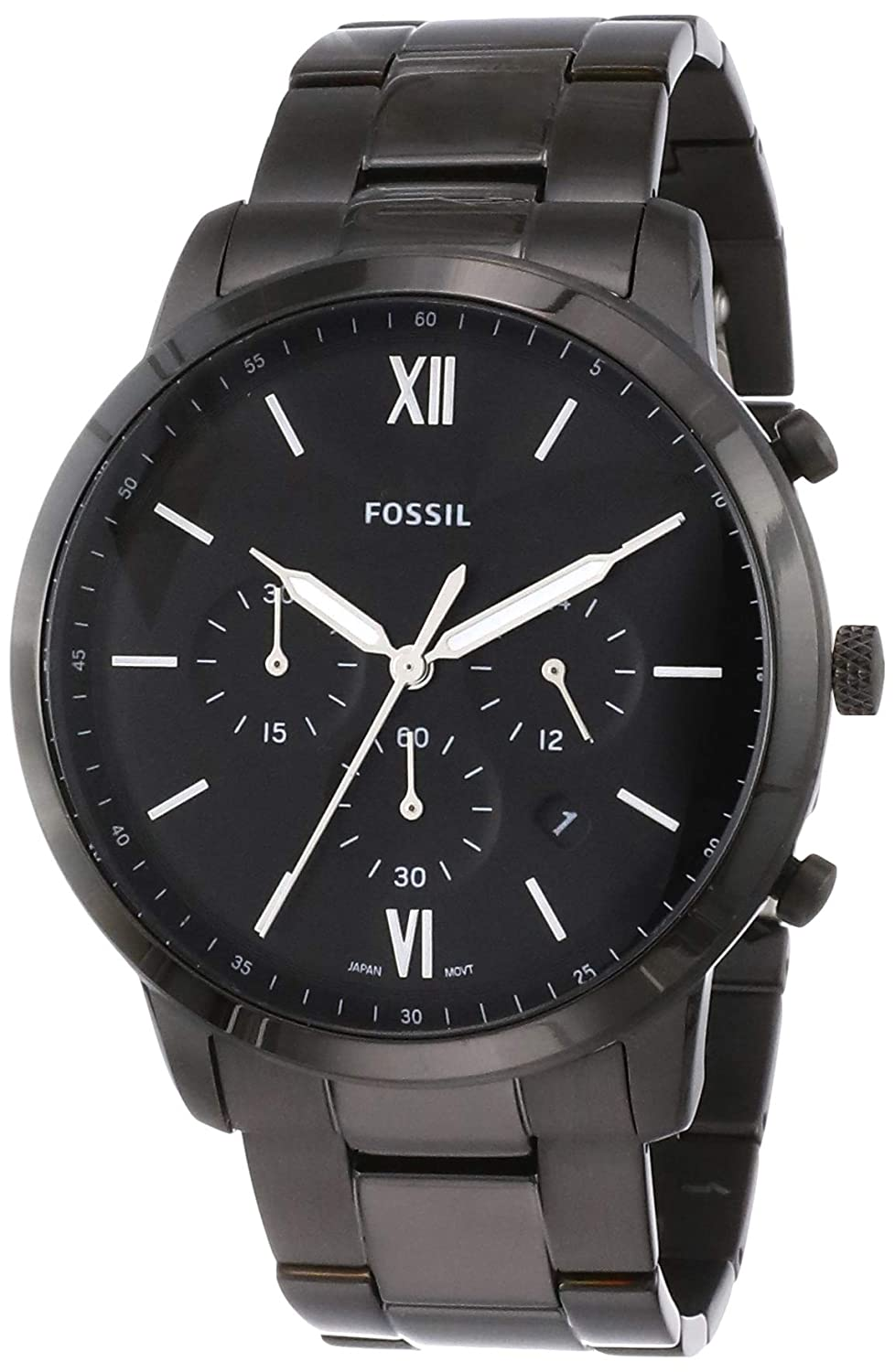 Fossil Neutra Chrono Analog Black Dial Men's Watch - FS5474