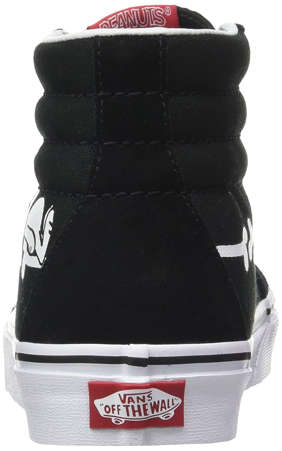 c2b2c9b5cf Vans Unisex Adults  Peanuts Sk8-hi Reissue Trainers  Amazon.co.uk  Shoes    Bags