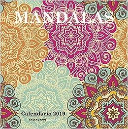 Calendario Mandalas 2019 (Calendarios y agendas): Amazon.es ...