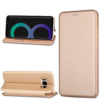 Funda Samsung Galaxy S8,XUNDD Carcasa Protectora Slim Folio Cartera y Fundas Tapa movil Case