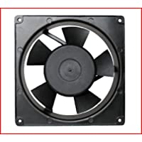 Maa-Ku 220V Aluminium Die Cast & Plastic Kitchen Exhaust Fan (17x17x5 CM)(Black)