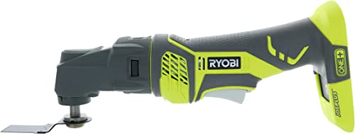 Ryobi P340 One 18V Lithium Ion JobPlus Cordless Multi Tool with 3 Attachment Heads P570 and P246 Parts Only, Battery Not Included