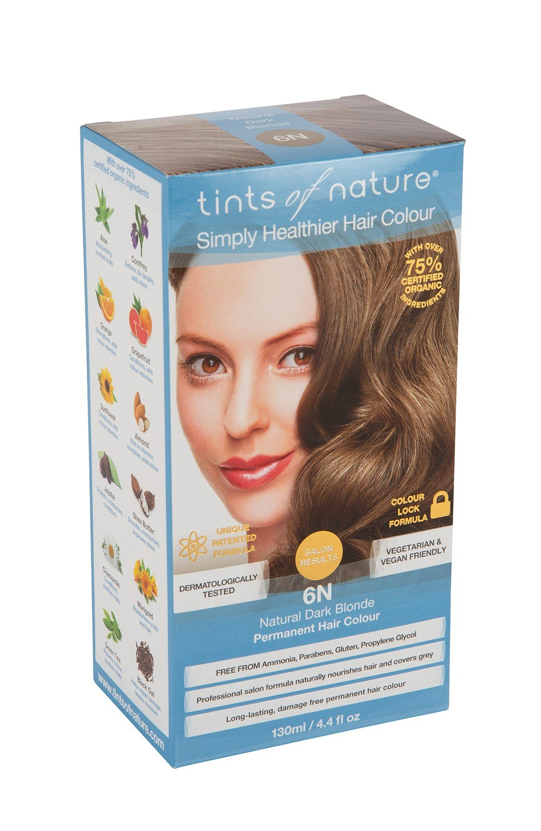 Tints Of Nature Natural Dark Blonde 130Ml Bundle (Pack Of 2) by Tints of Nature