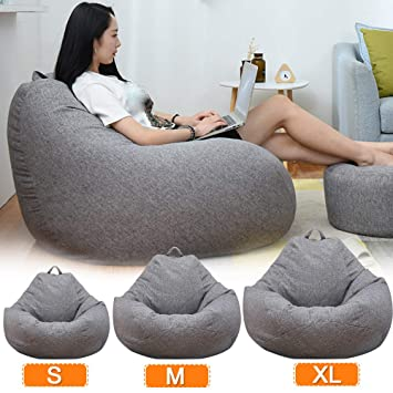 Amazon.com: JLFTF Large Small Lazy Sofas Cover Chairs ...