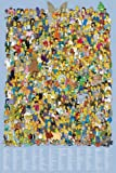 Posters: The Simpsons Poster - Cast 2012, All Characters (36 x 24 inches)