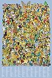 1art1 59174 Die Simpsons - Alle Charaktere 2012 Poster, 91 x 61 cm
