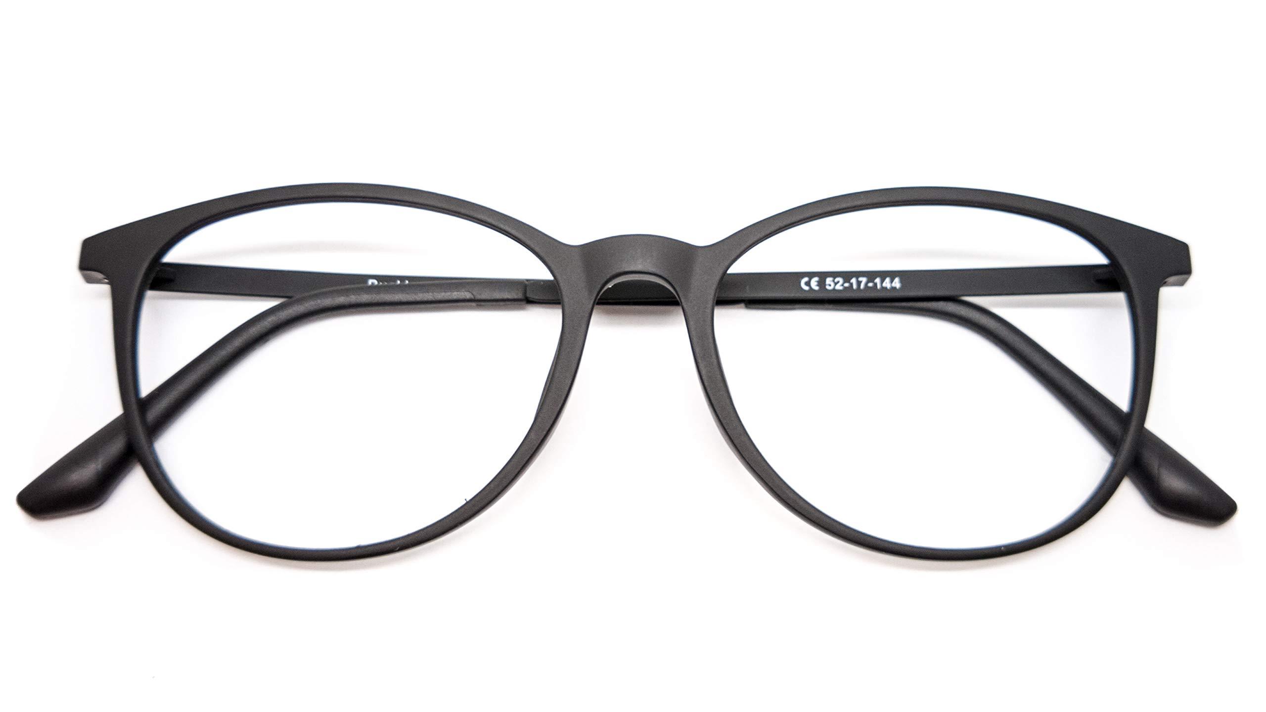 3a597e3d014 nowave - Montures de Lunettes - Homme Multicolore Noir Opaque Oval Flex