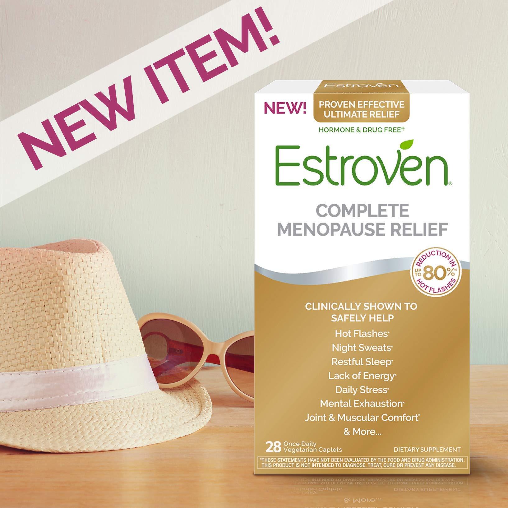 Estroven Maximum Strength+Energy | Menopause Relief Dietary Supplement | Safe Multi-Symptom Relief