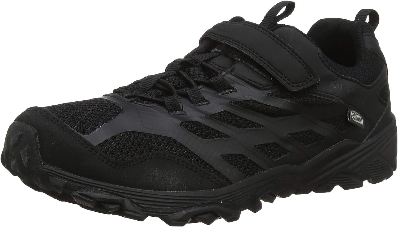 Merrell M-moab Fst Low a/C Waterproof, Zapatillas de Senderismo Unisex Niños, Negro (Black), 29 EU: Amazon.es: Zapatos y complementos