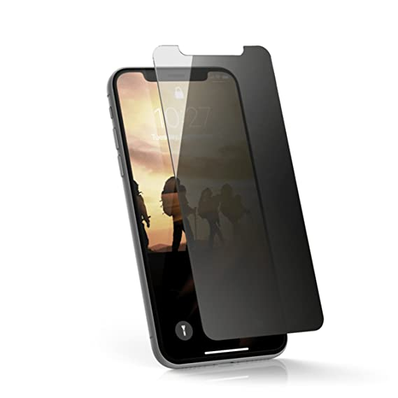 a185c426f Amazon.com: URBAN ARMOR GEAR UAG iPhone Xs/X [5.8-inch Screen] Tempered  Glass Privacy Tint Screen Protector: Cell Phones & Accessories
