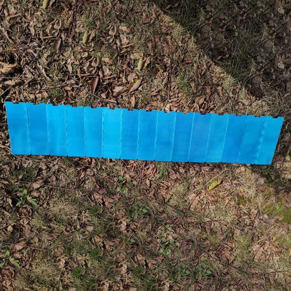 Fornateu Camping-Feuer Windschutzscheibe Herd Faltbarer Windschutz-im Freien Kochen Wind Brett Aluminiumlegierung Windschutzscheibe