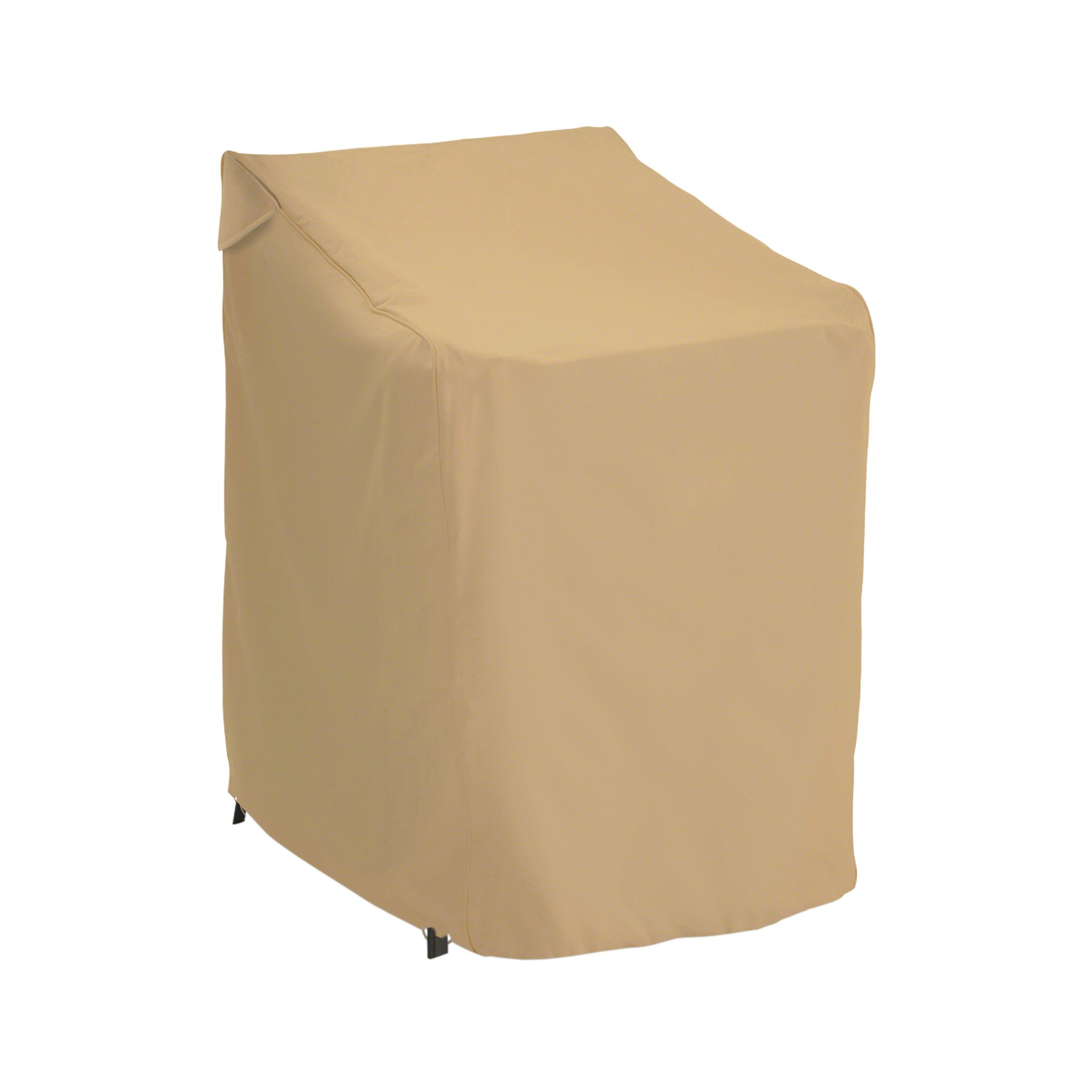 Classic Accessories Terrazzo Stackable Patio Chair Cover - All Weather Protection Outdoor Furniture Cover (58972-EC)