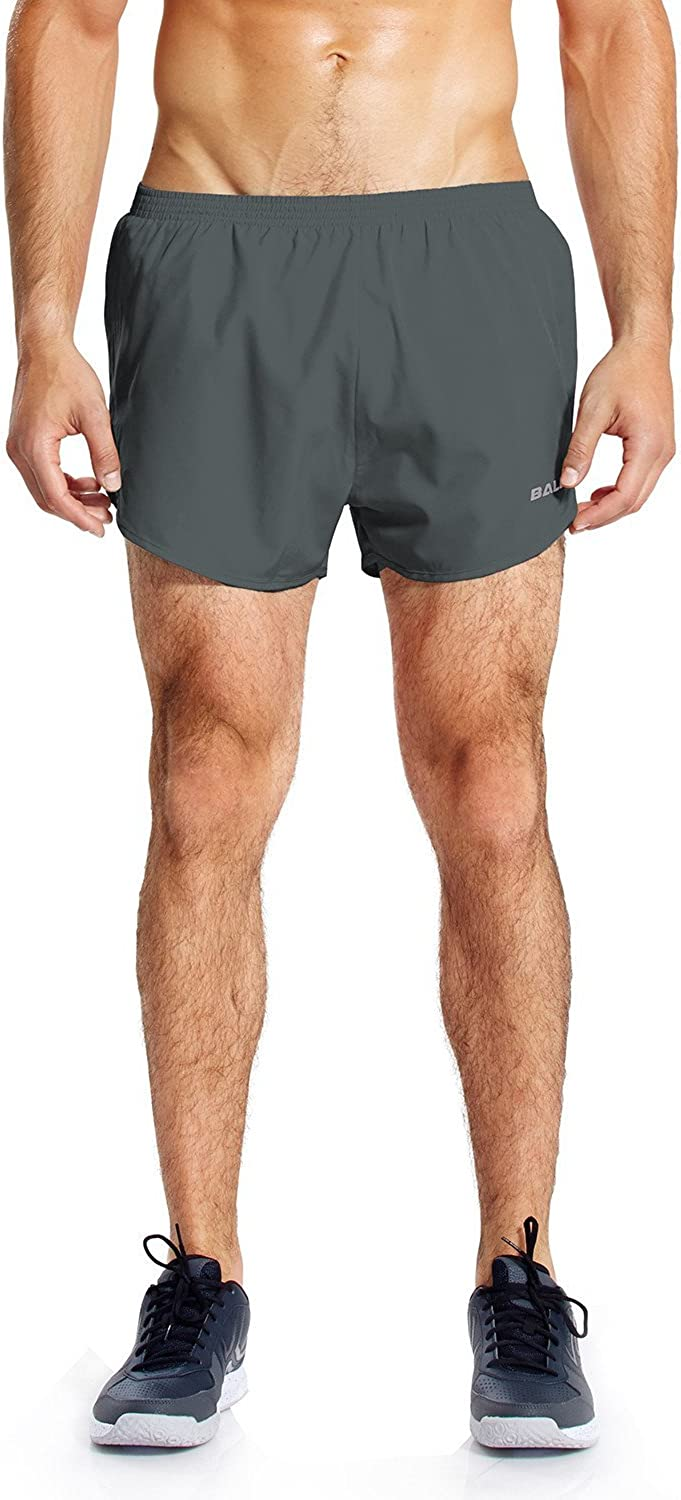Baleaf Men's 3'' Running Shorts Quick Dry Gym Athletic Shorts