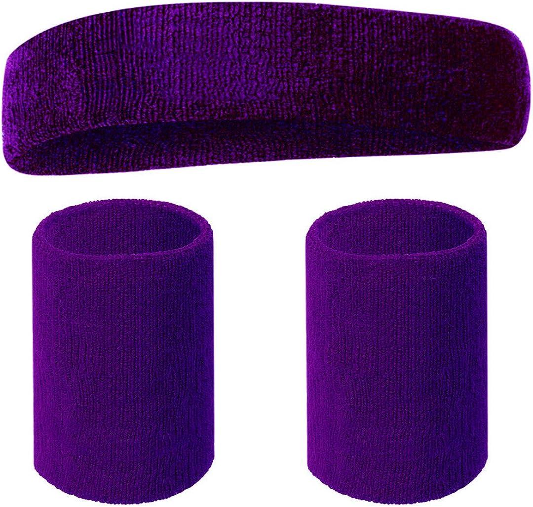 Happywendy/Headbands Wristbands Set for Women Men