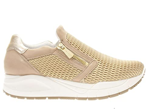 detailed look 18fd9 8bc11 IGI&CO shoes women low sneakers without laces GOLD 77764/00 ...
