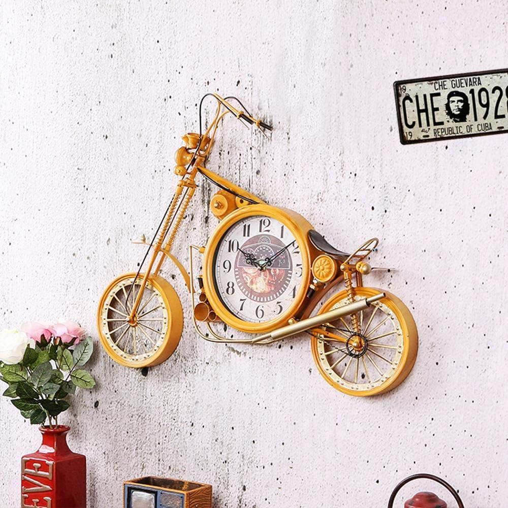 Maerye Motos Retro Modelo Pared decoración Reloj decoración Pared ...