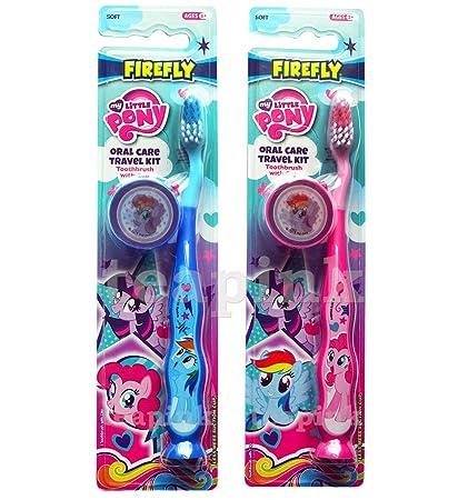 Cepillo de dientes con tapa de viaje y ventosa, para niñ