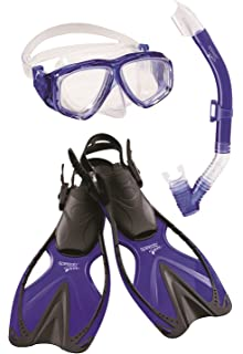 SPEEDO Kids Discovery Mask Snorkel Fin Dive Set Beach Pool Swimming L//XL 3-5