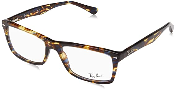 641853e241 Ray-Ban RX5287 Glasses in Black RX5287 2000 52  Rayban  Amazon.co.uk   Clothing