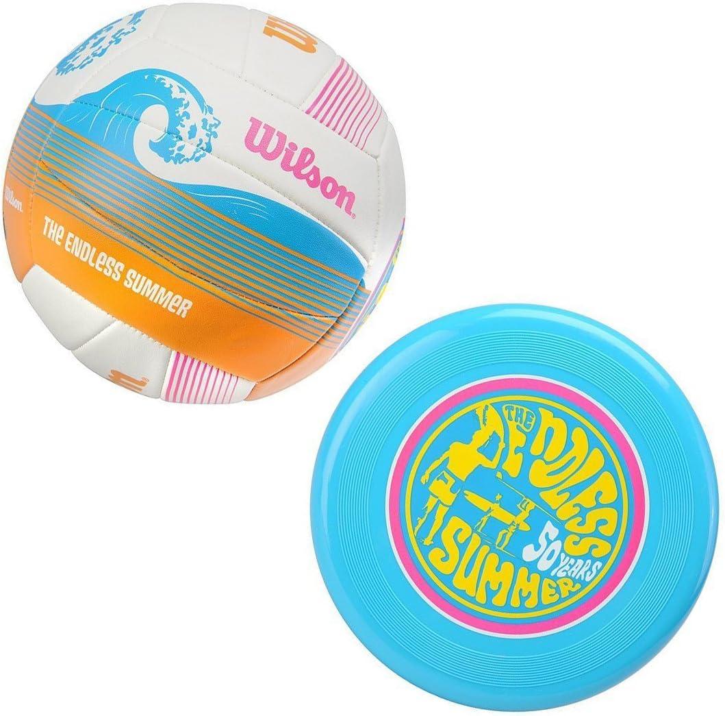 Wilson Endless - Balón de voleibol, tamaño M, color blanco: Amazon ...
