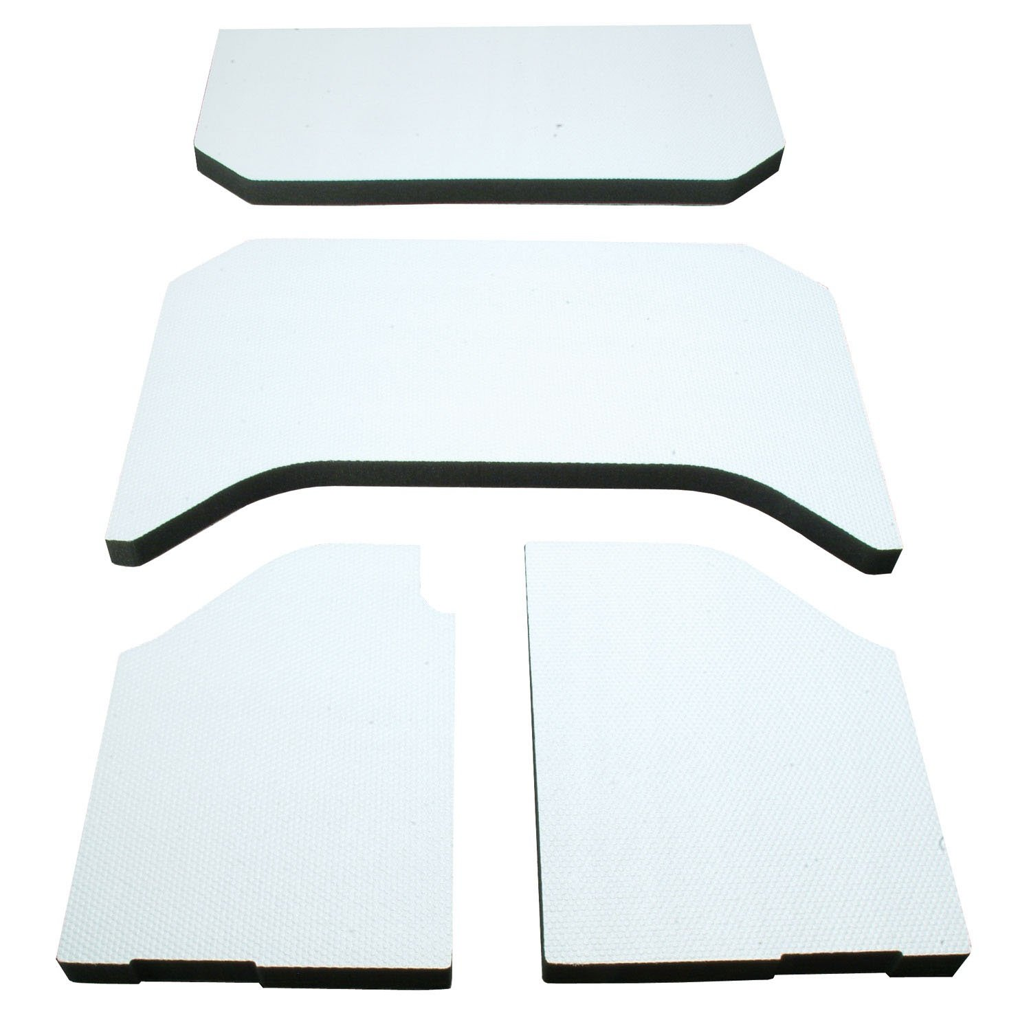 DEI 050141 Boom Mat Sound Deadening Headliner for 4-Door Jeep Wrangler (2011-2016) - White