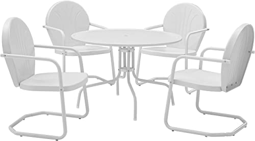 Crosley Furniture Griffith 5-Piece Metal Outdoor Dining Set