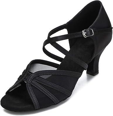 CLEECLI Women's Ballroom Dance Shoes