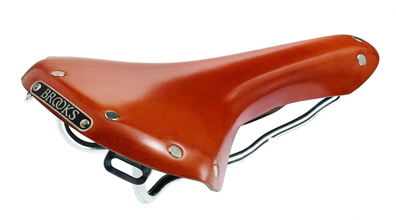 BROOKS(ブルックス) レザーサドル サイドを大きくカットした伝統のスポーツモデル B15 SWALLOW CHROME HONEY B0028NAEIA