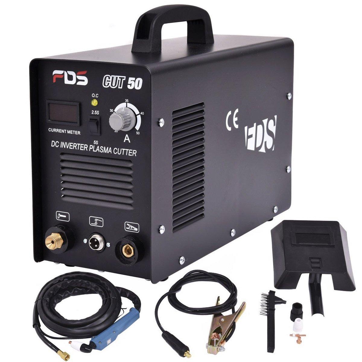 Goplus Cut Electric Plasma Cutter DC