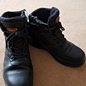 Lovely Samson Xl 7109 S3 Src Hro Black Composite Toe Cap Metal Free Zip Up Safety Boots Work Boots & Shoes
