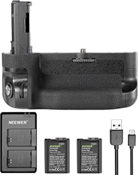 Amazon.com : Neewer Vertical Battery Grip Kit for Sony A7 II ...